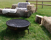 Fire pits and camp fires await you