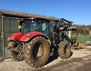 One of our tractors